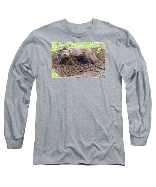 Waddya Want Long Sleeve T-Shirt by Harold Piskiel