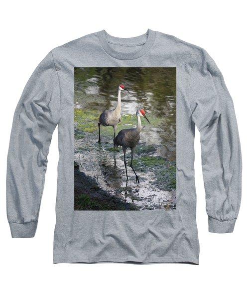 Wading Sandhills Long Sleeve T-Shirt