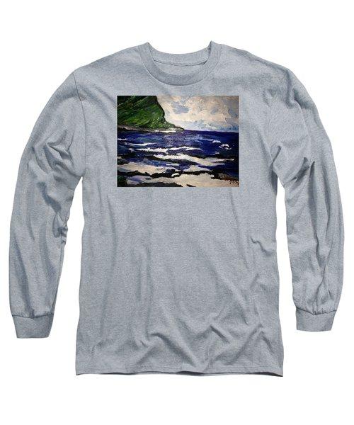 Waipio Valley  Beach Long Sleeve T-Shirt