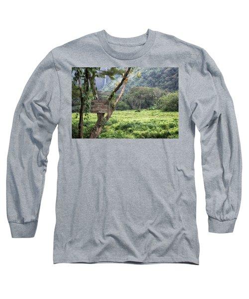 Waipio Valley Road Rules Long Sleeve T-Shirt