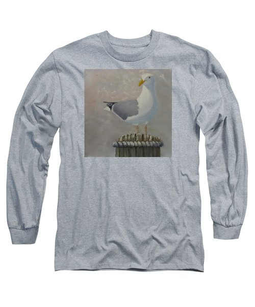 Waiting For Lunch Long Sleeve T-Shirt