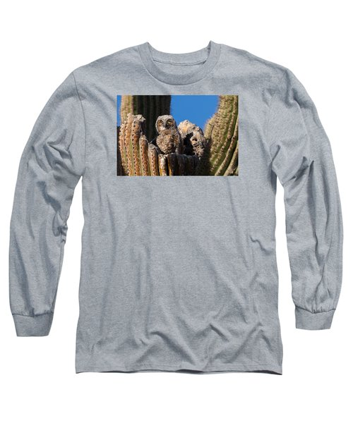 Waiting For Mom Long Sleeve T-Shirt by Dennis Eckel