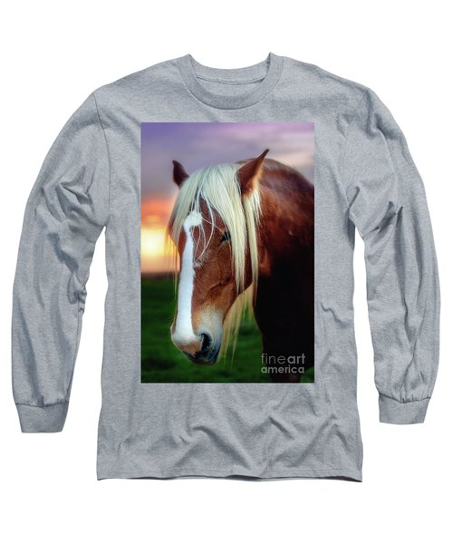 Waiting For My Master Long Sleeve T-Shirt by Tamyra Ayles
