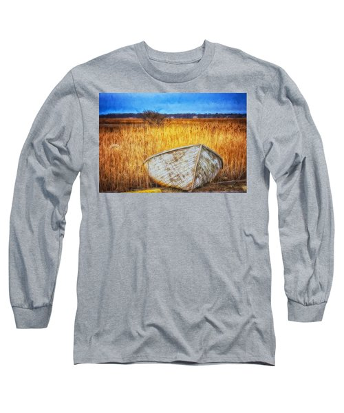 Waiting For Summer Long Sleeve T-Shirt by Tricia Marchlik