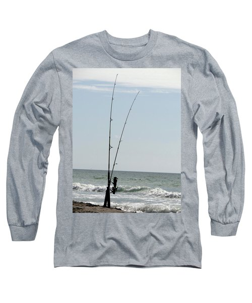 Waiting For The Bait Long Sleeve T-Shirt