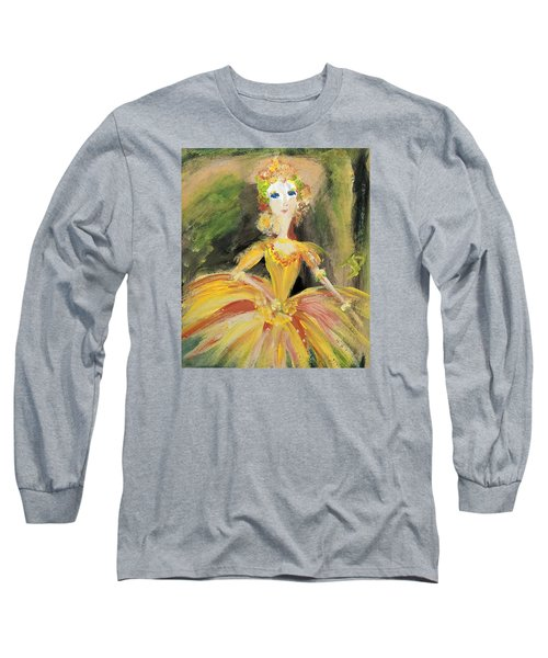 Waiting In The Wings Long Sleeve T-Shirt by Judith Desrosiers