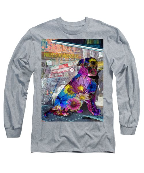 Waiting Long Sleeve T-Shirt by Judi Saunders