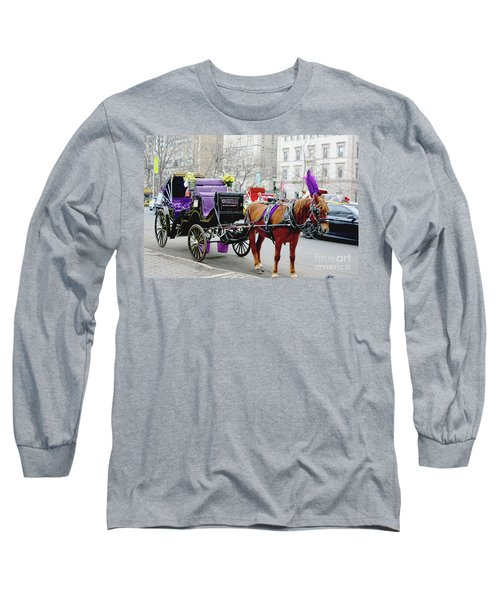 Waiting Long Sleeve T-Shirt by Sandy Moulder