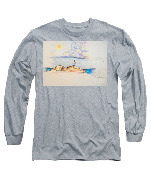 Waiting Upon The Storm Long Sleeve T-Shirt