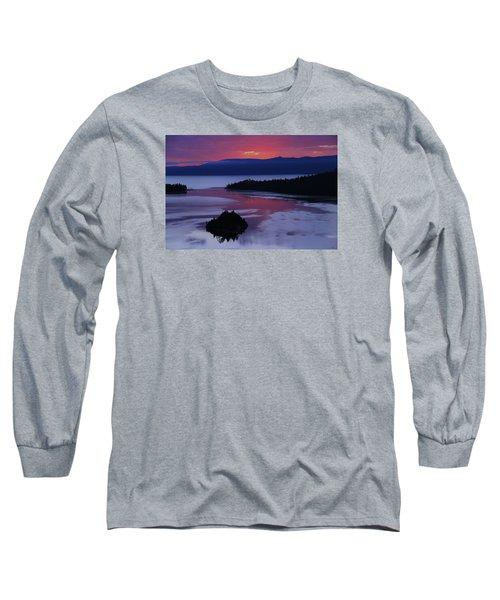 Wake Up In Lake Tahoe  Long Sleeve T-Shirt