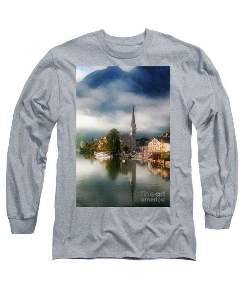 Waking Up In Hallstatt Long Sleeve T-Shirt