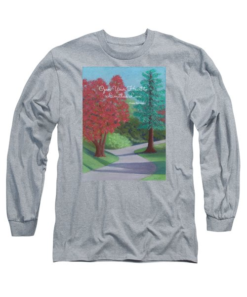 Waking Up - With Quote Long Sleeve T-Shirt