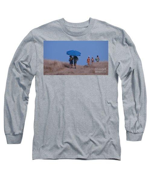 Walk To The Beach Long Sleeve T-Shirt