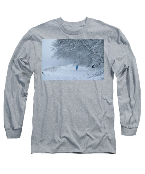 Walking In The Snow Long Sleeve T-Shirt