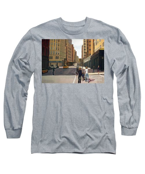 Walking The Lines Long Sleeve T-Shirt