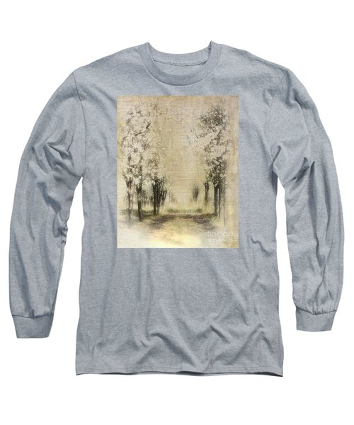 Walking Through A Dream IIi Long Sleeve T-Shirt by Dan Carmichael
