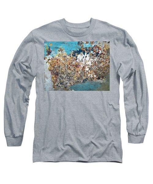 Wall Abstract 106 Long Sleeve T-Shirt