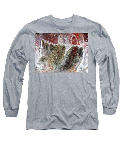 Wall Abstract 144 Long Sleeve T-Shirt