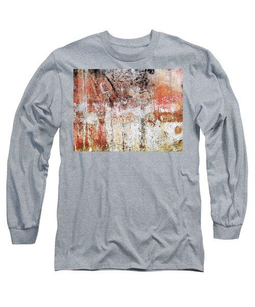 Wall Abstract  183 Long Sleeve T-Shirt