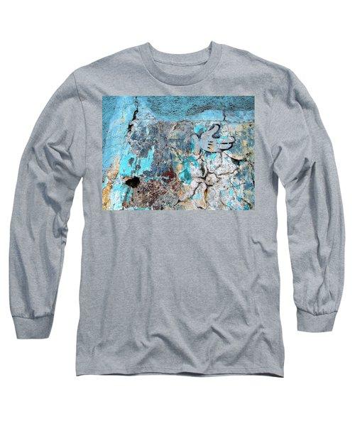 Wall Abstract 211 Long Sleeve T-Shirt