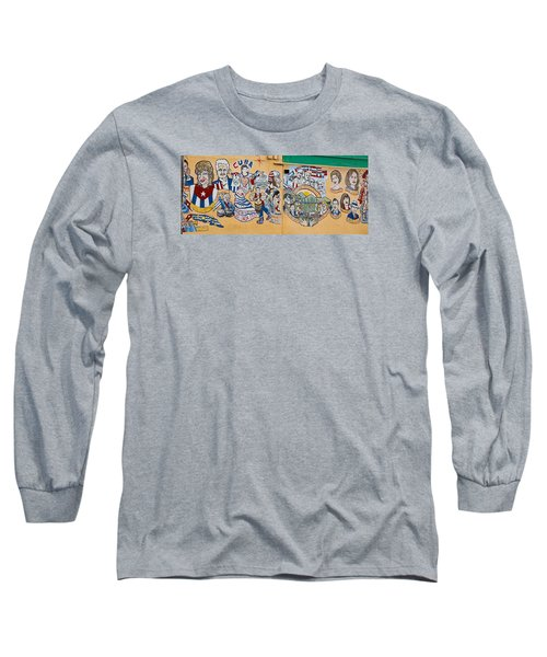 Wall Of Cuba Long Sleeve T-Shirt