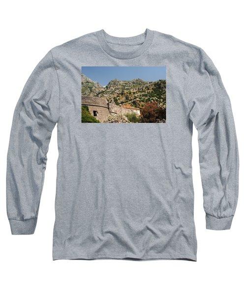 Walls Of Kotor Long Sleeve T-Shirt