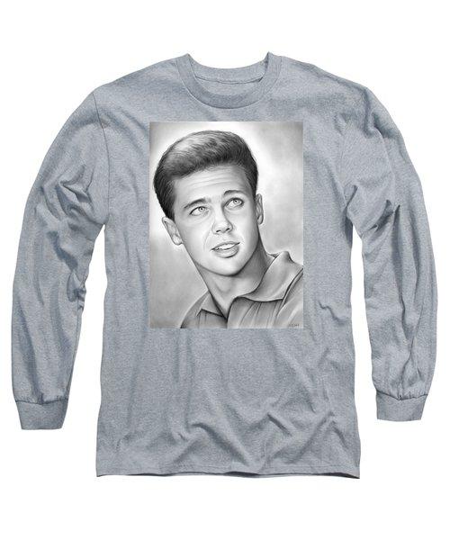 Wally Cleaver Long Sleeve T-Shirt by Greg Joens
