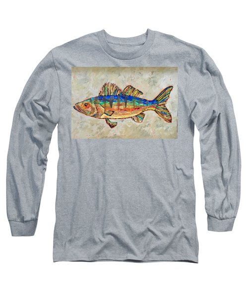 Walter The Walleye Long Sleeve T-Shirt