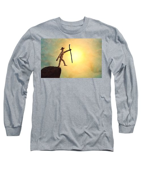 Wanderlust Long Sleeve T-Shirt by Mark Fuller