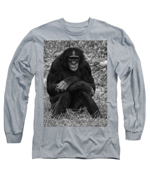 Long Sleeve T-Shirt featuring the photograph Wanna Be Like You by Nick Bywater