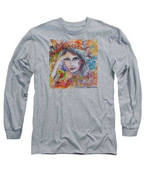 Warm Autumn Long Sleeve T-Shirt by Rita Fetisov