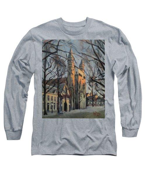 Warm Winterlight Olv Plein Long Sleeve T-Shirt