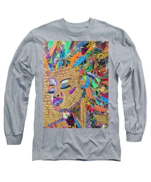 Warrior Woman Long Sleeve T-Shirt