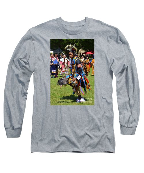 Long Sleeve T-Shirt featuring the photograph Warriors Dance by Lew Davis