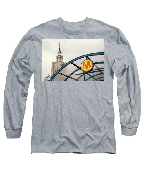 Long Sleeve T-Shirt featuring the photograph Warsaw by Chevy Fleet