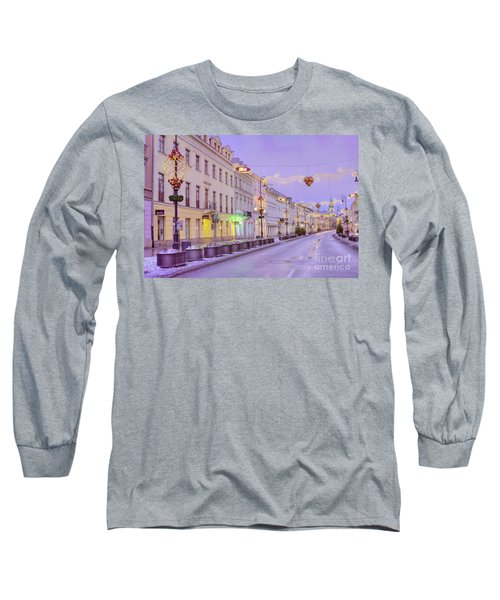 Long Sleeve T-Shirt featuring the photograph Warsaw by Juli Scalzi