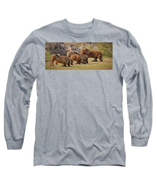 Warthogs Doing Lunch Long Sleeve T-Shirt