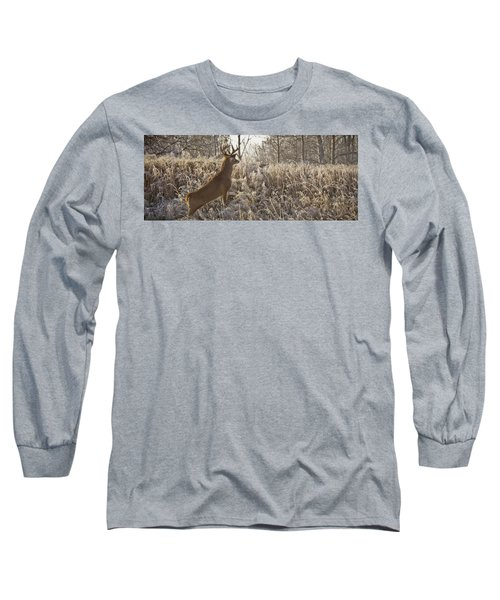 Wary Buck Long Sleeve T-Shirt