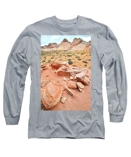 Long Sleeve T-Shirt featuring the photograph Wash 4 In Valley Of Fire by Ray Mathis