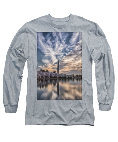 Washington Blossom Sunrise Long Sleeve T-Shirt