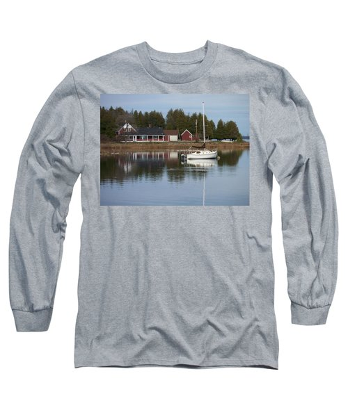 Washington Island Harbor 4 Long Sleeve T-Shirt