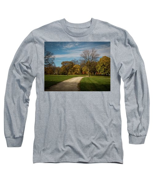 Long Sleeve T-Shirt featuring the photograph Washington Walkway by Kimberly Mackowski