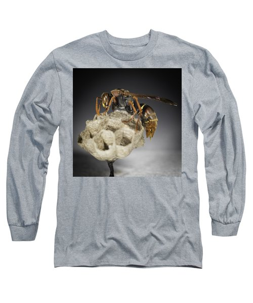 Wasp On A Nest Long Sleeve T-Shirt