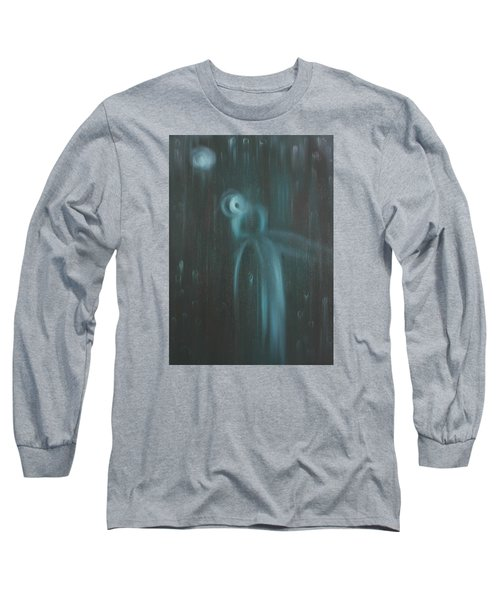 Wasted Time Long Sleeve T-Shirt by Min Zou