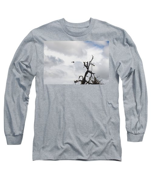 Long Sleeve T-Shirt featuring the photograph Watch Out For That Tree by Marie Neder
