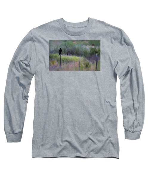 Watchful Eye Long Sleeve T-Shirt by John Rivera