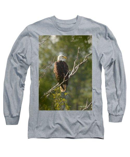 Watching Eagle Long Sleeve T-Shirt