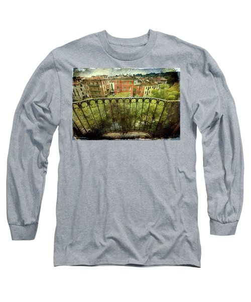 Watching From The Balcony Long Sleeve T-Shirt