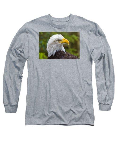 Watching Long Sleeve T-Shirt by Harold Piskiel