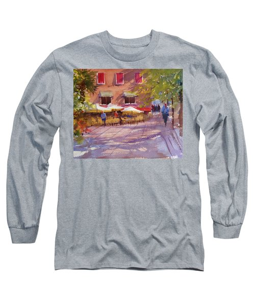 Watching The World Go By Long Sleeve T-Shirt